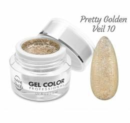 NANI UV/LED gél Glamour Twinkle 5 ml - Pretty Golden Veil