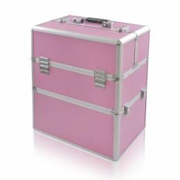 NANI dvojdielny kozmetický kufrík NN47 - Pink