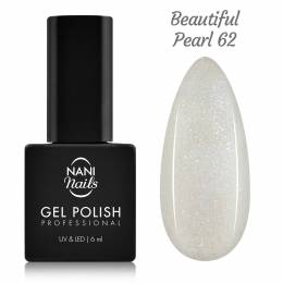 NANI gél lak 6 ml - Beautiful Pearl