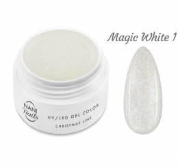 NANI UV gél Christmas Line 5 ml - Magic White