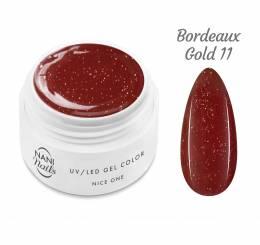 NANI UV gél Nice One Color 5 ml - Bordeaux Gold