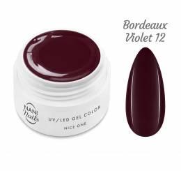 NANI UV gél Nice One Color 5 ml - Bordeaux Violet