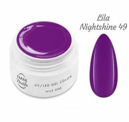 NANI UV gél Nice One Color 5 ml - Lila Nightshine