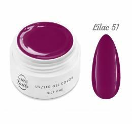 NANI UV gél Nice One Color 5 ml - Lilac