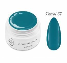 NANI UV gél Nice One Color 5 ml - Petrol