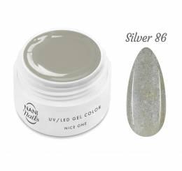 NANI UV gél Nice One Color 5 ml - Silver