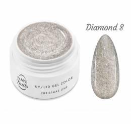 NANI UV gél Christmas Line 5 ml - Diamond