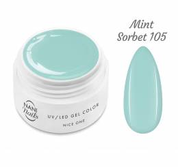 NANI UV gél Nice One Color 5 ml - Mint Sorbet