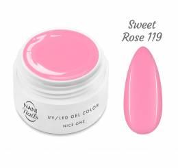 NANI UV gél Nice One Color 5 ml - Sweet Rose