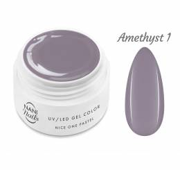 NANI UV gél Nice One Pastel 5 ml - Amethyst