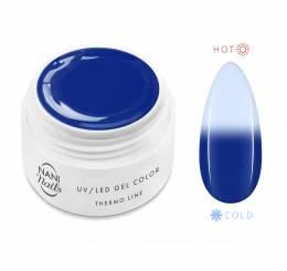 NANI termo UV gél 5 ml - Blue Light Blue