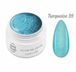 NANI UV gél Classic Line 5 ml - Turquoise