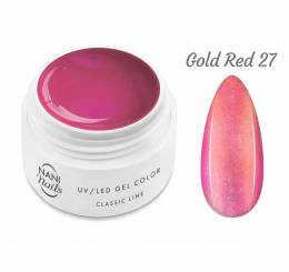 NANI UV gél Classic Line 5 ml - Gold Red