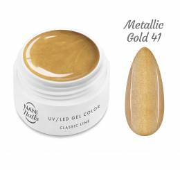 NANI UV gél Classic Line 5 ml - Metallic Gold