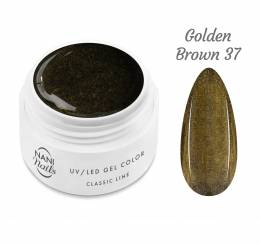 NANI UV gél Classic Line 5 ml - Golden Brown