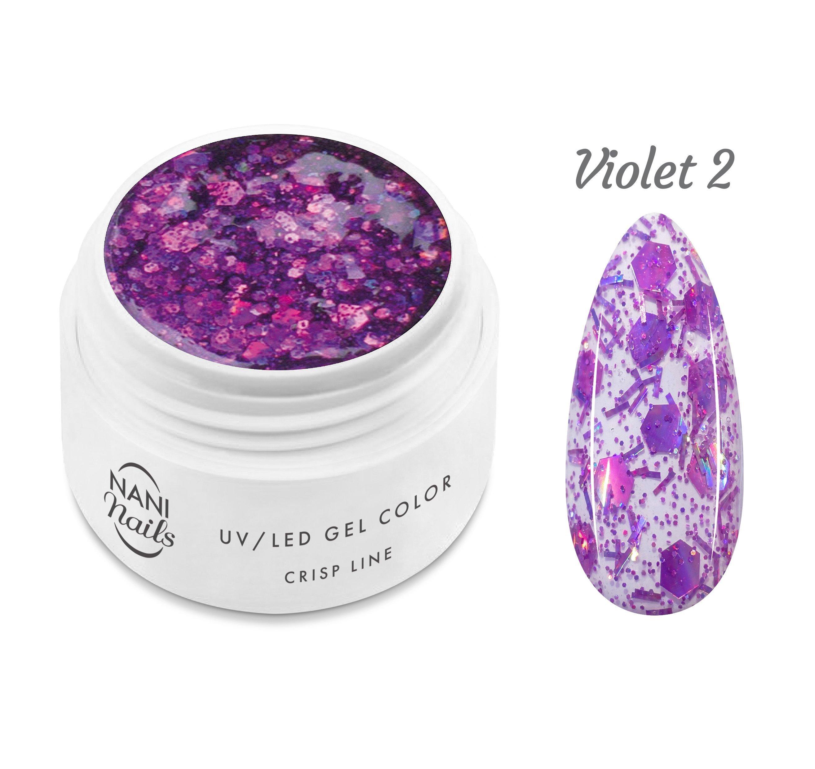 NANI UV gél Crisp Line 5 ml - Violet