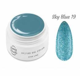 NANI UV gél Star Line 5 ml - Sky Blue