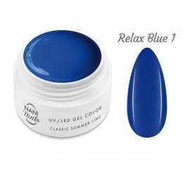 NANI UV gél Classic Summer Line 5 ml - Relax Blue