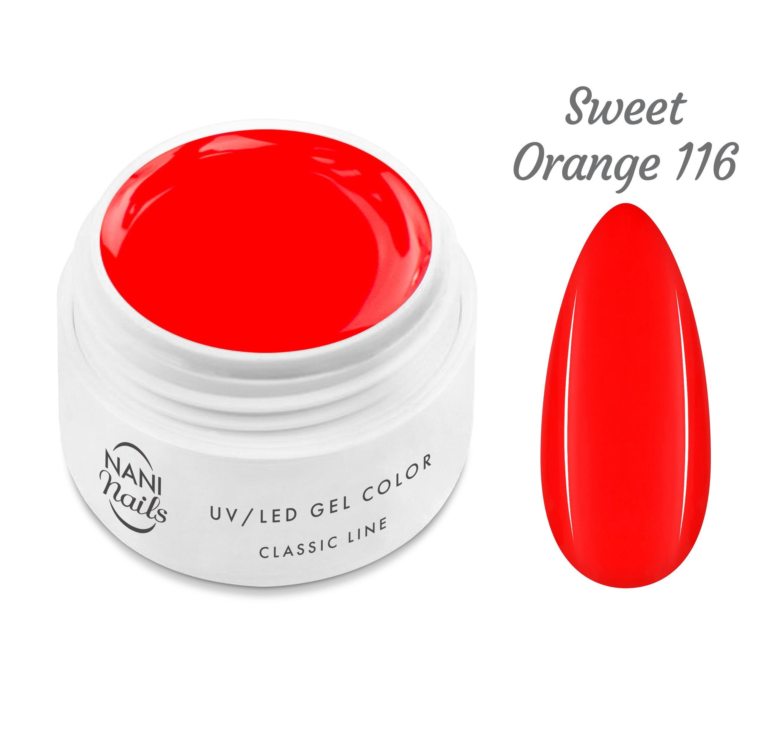 NANI UV gél Classic Line 5 ml - Sweet Orange