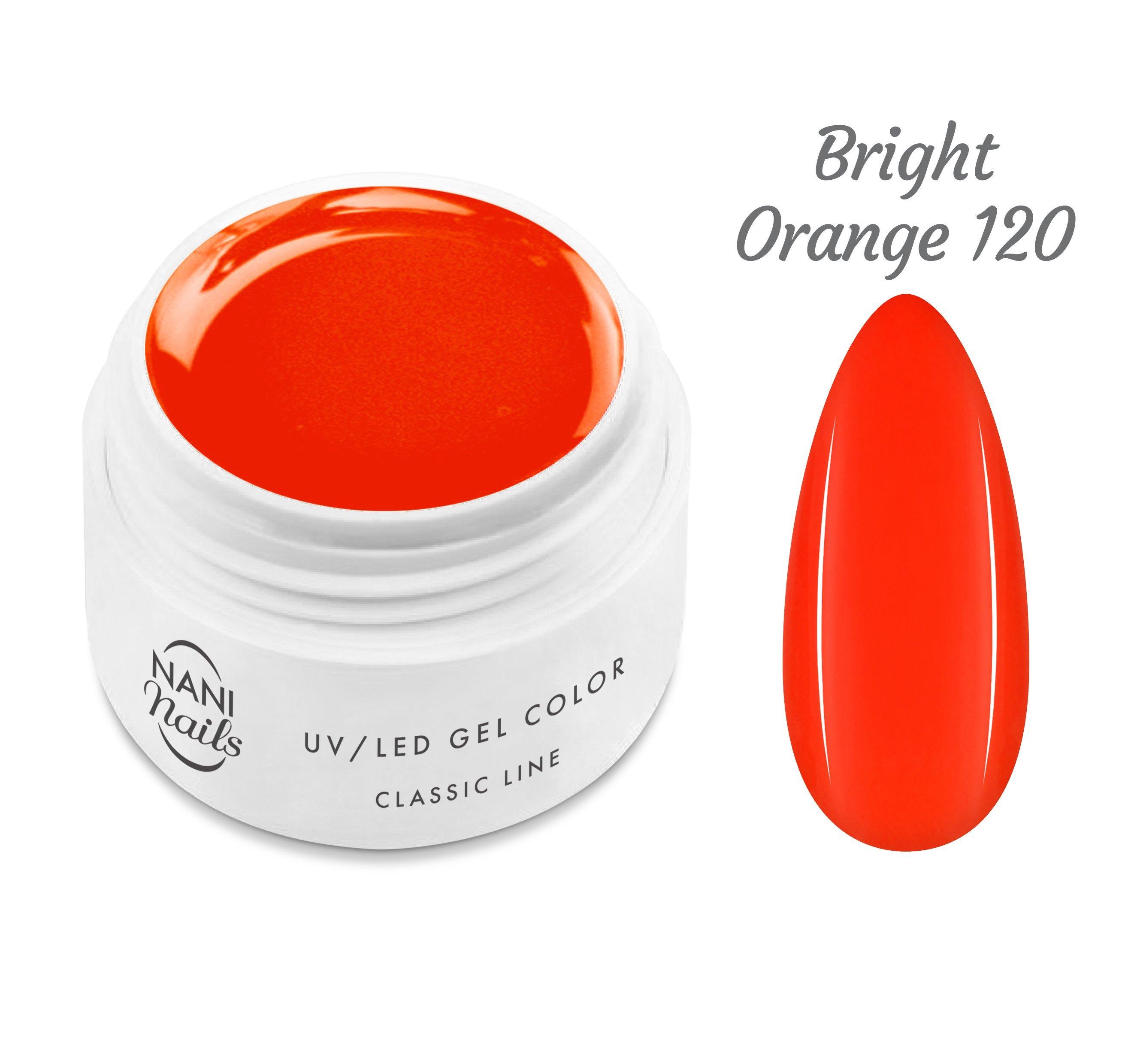 NANI UV gél Classic Line 5 ml - Bright Orange