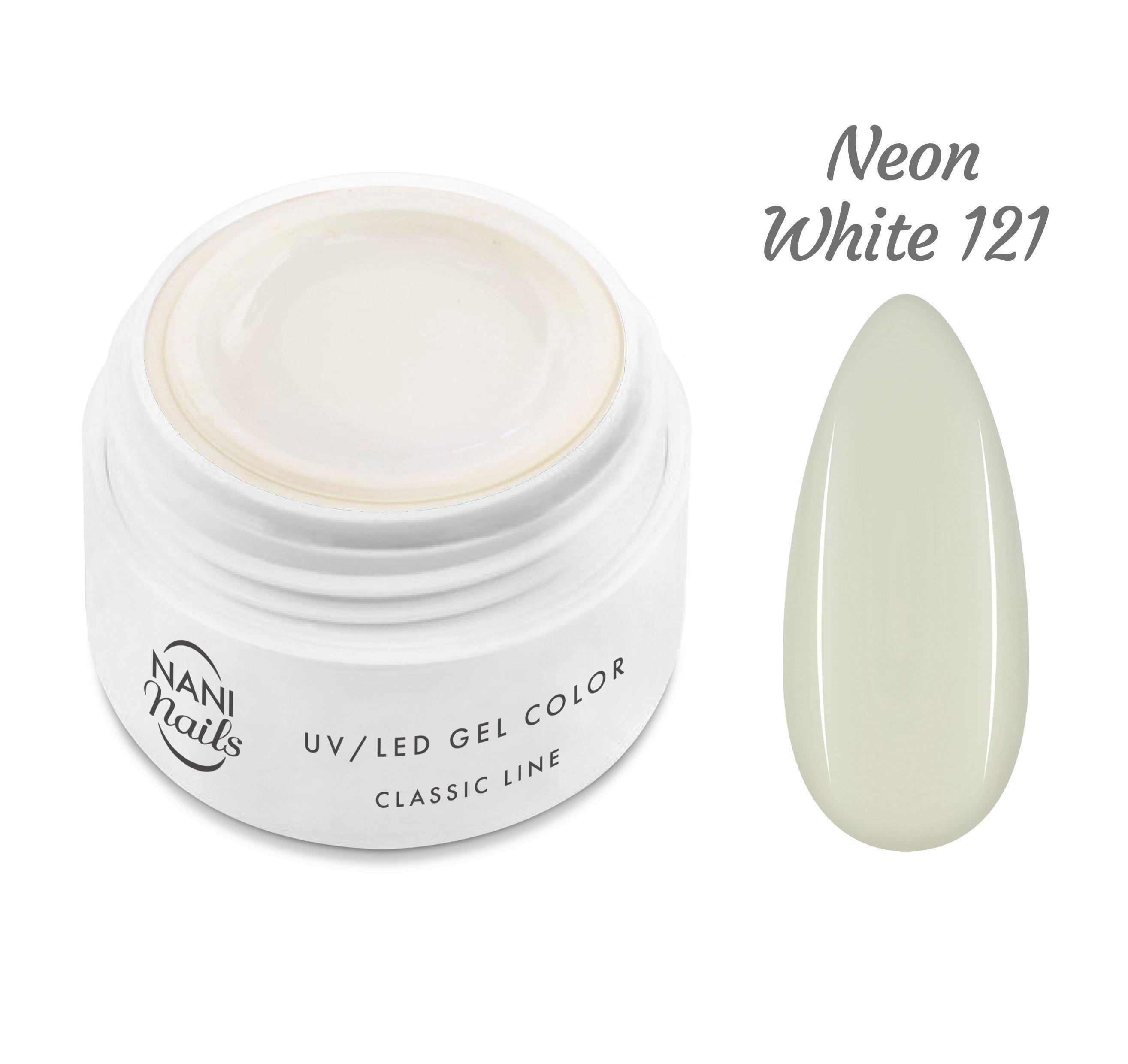 NANI UV gél Classic Line 5 ml - Neon White
