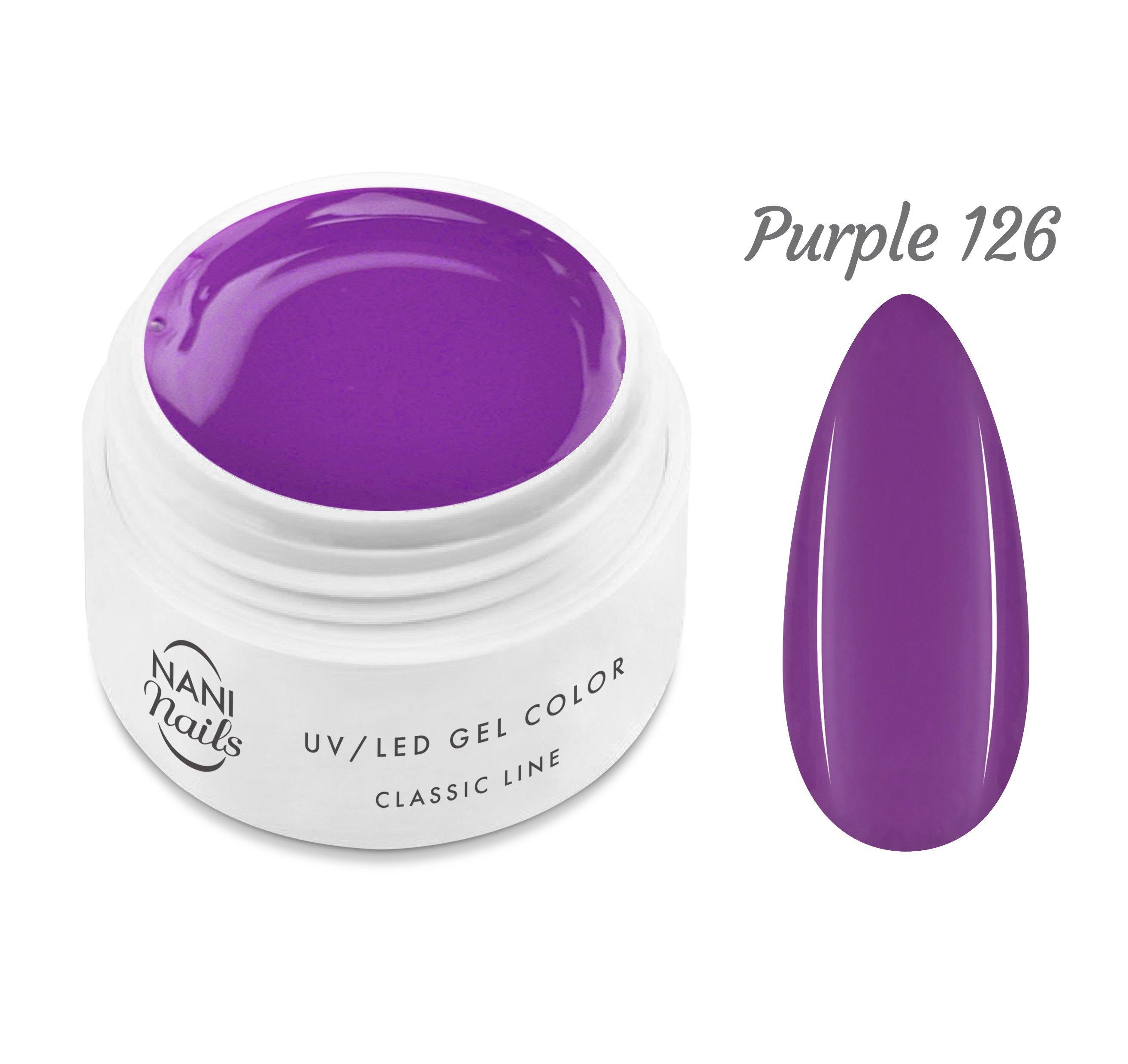 NANI UV gél Classic Line 5 ml - Purple