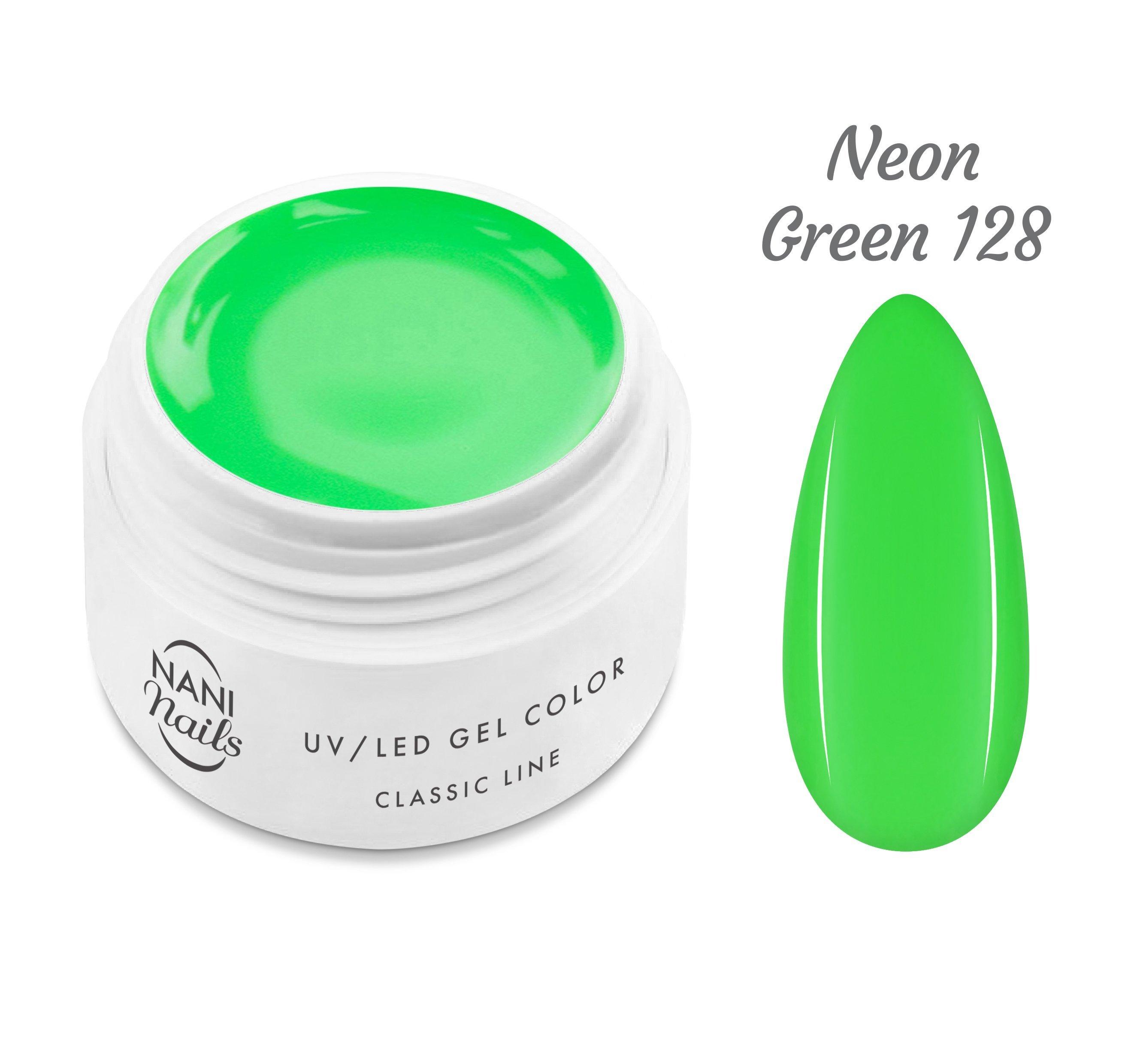 NANI UV gél Classic Line 5 ml - Neon Green