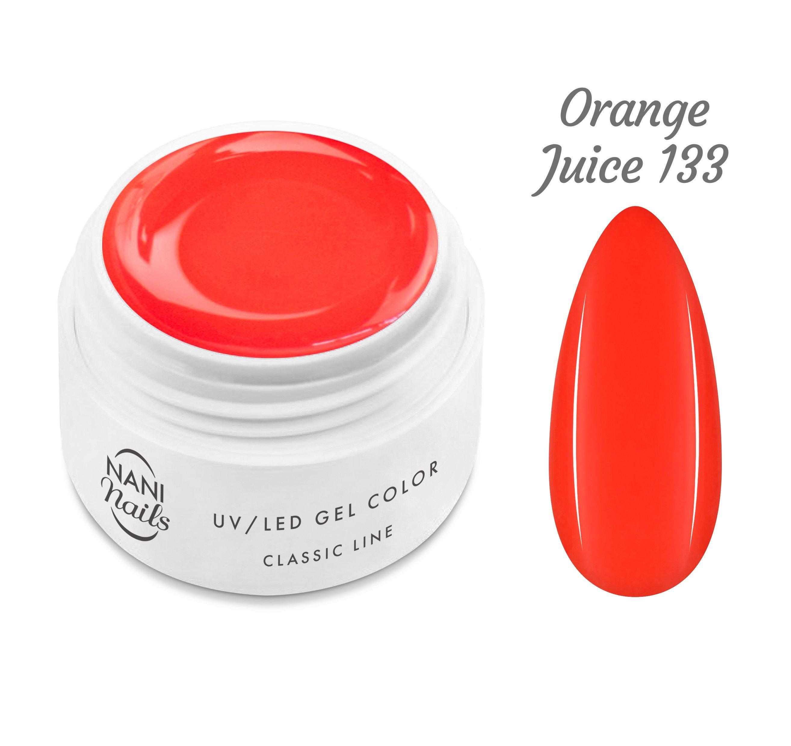 NANI UV gél Classic Neon Line 5 ml - Orange Juice