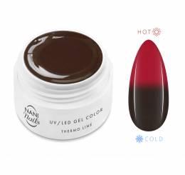 NANI termo UV gél 5 ml - Brown Red