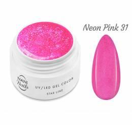 NANI UV gél Star Line 5 ml - Neon Pink
