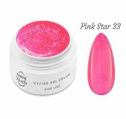 NANI UV gél Star Line 5 ml - Pink Star