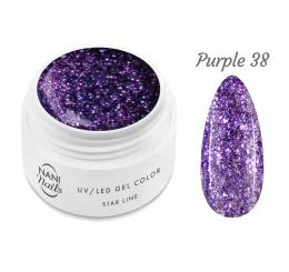 NANI UV gél Star Line 5 ml - Purple