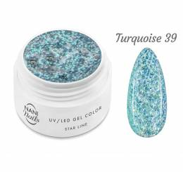 NANI UV gél Star Line 5 ml - Turquoise
