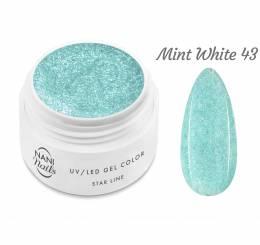 NANI UV gél Star Line 5 ml - Mint White