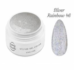 NANI UV gél Star Line 5 ml - Silver Rainbow