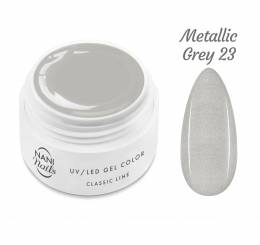 NANI UV gél Classic Line 5 ml - Metallic Grey