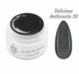 NANI UV gél Classic Line 5 ml - Delicious Anthracite