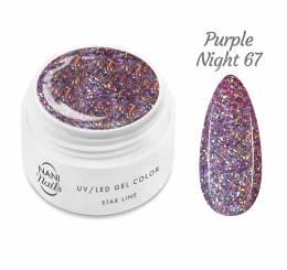 NANI UV gél Star Line 5 ml - Purple Night