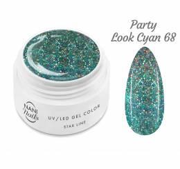 NANI UV gél Star Line 5 ml - Party Look Cyan
