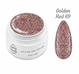 NANI UV gél Star Line 5 ml - Golden Red