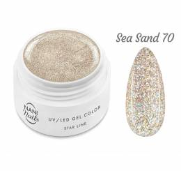 NANI UV gél Star Line 5 ml - Sea Sand