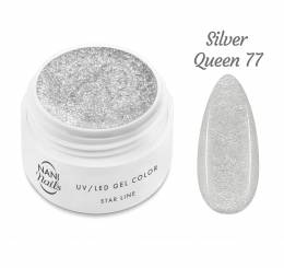 NANI UV gél Star Line 5 ml - Silver Queen