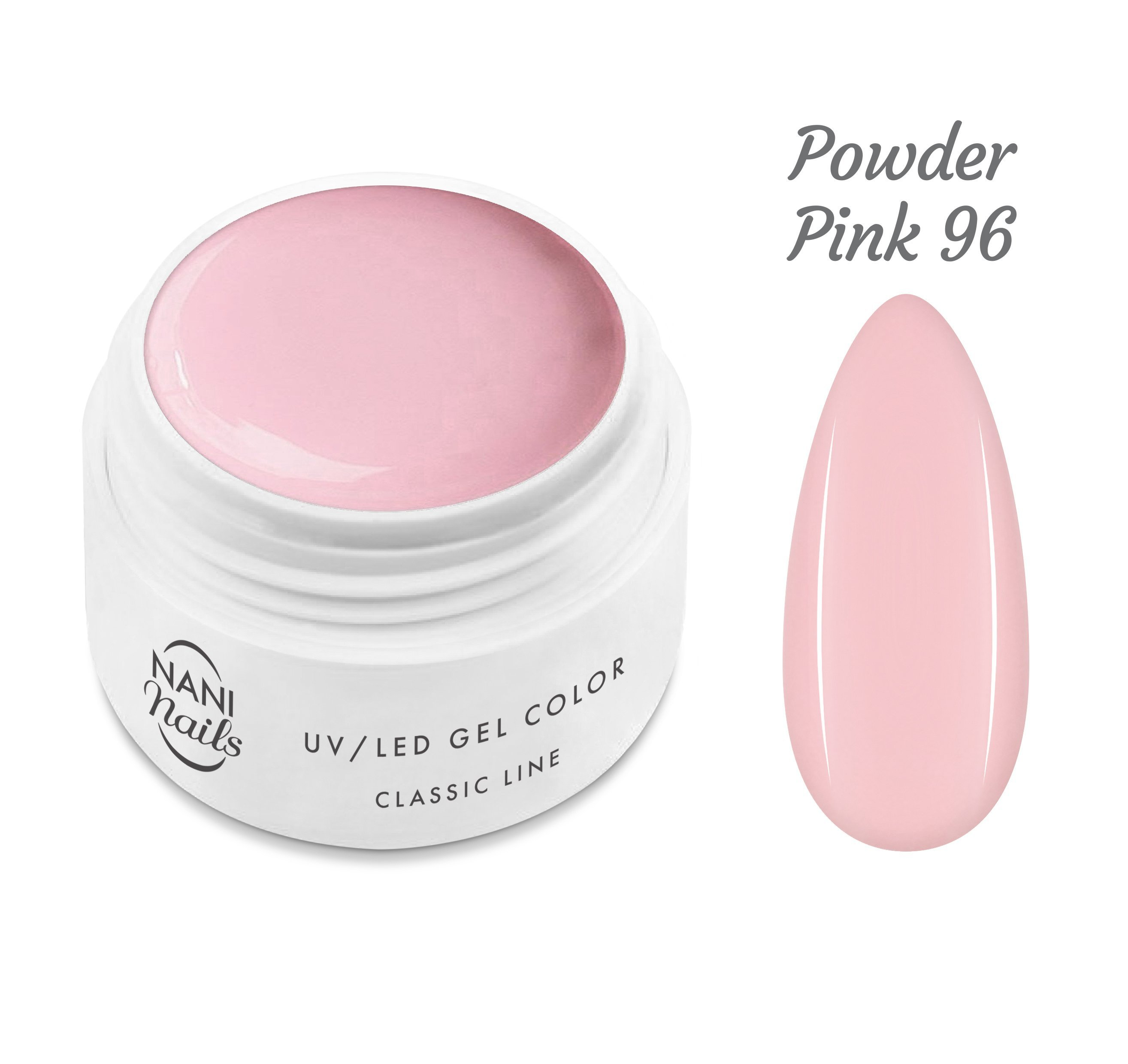 NANI UV gél Classic Line 5 ml - Powder Pink