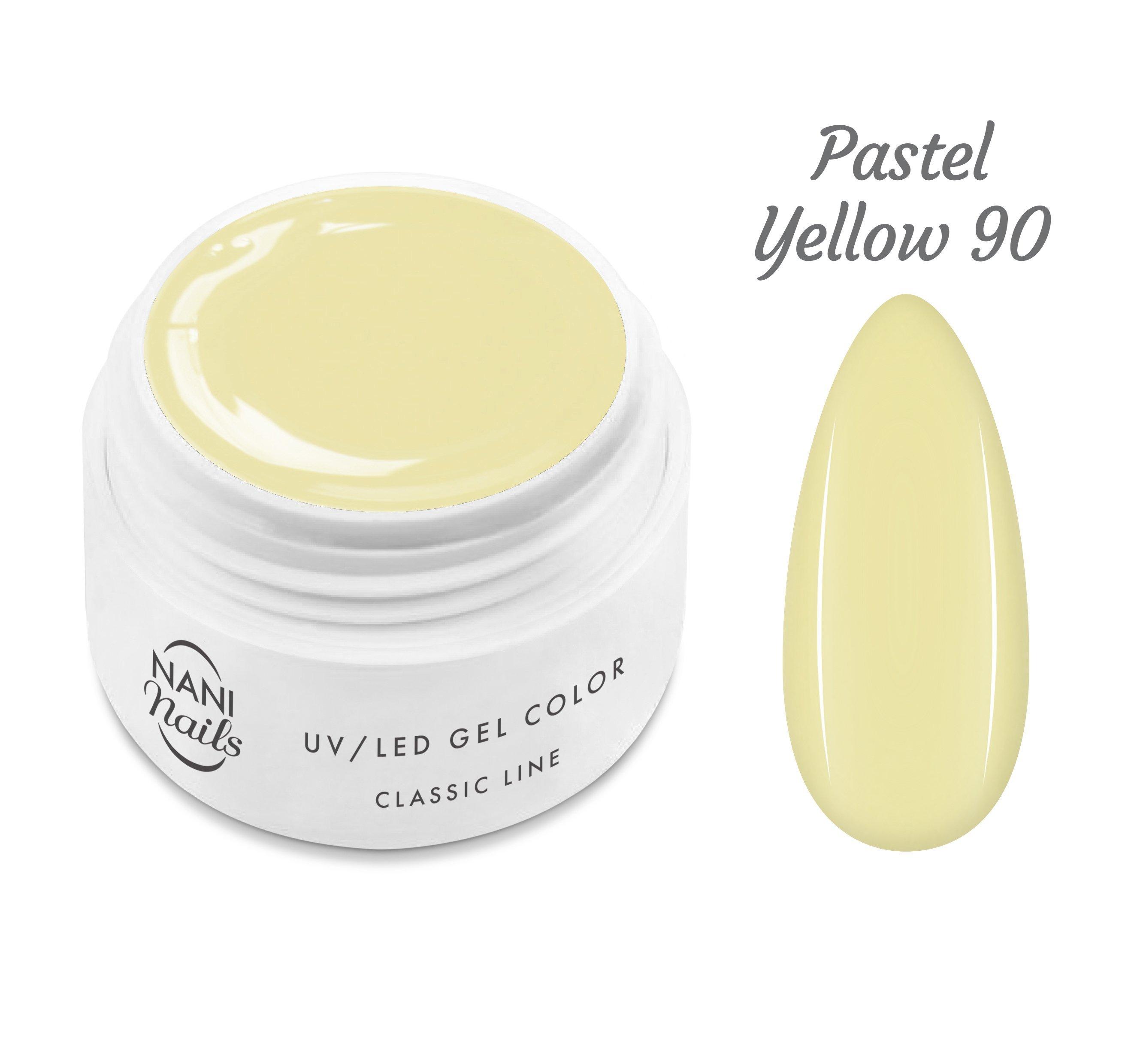 NANI UV gél Classic Line 5 ml - Pastel Yellow