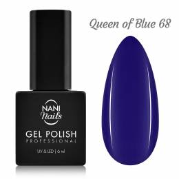 NANI gél lak 6 ml - Queen of Blue