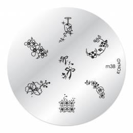 Konad zdobiaca doštička M38