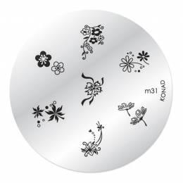 Konad Zdobiaca doštička M31