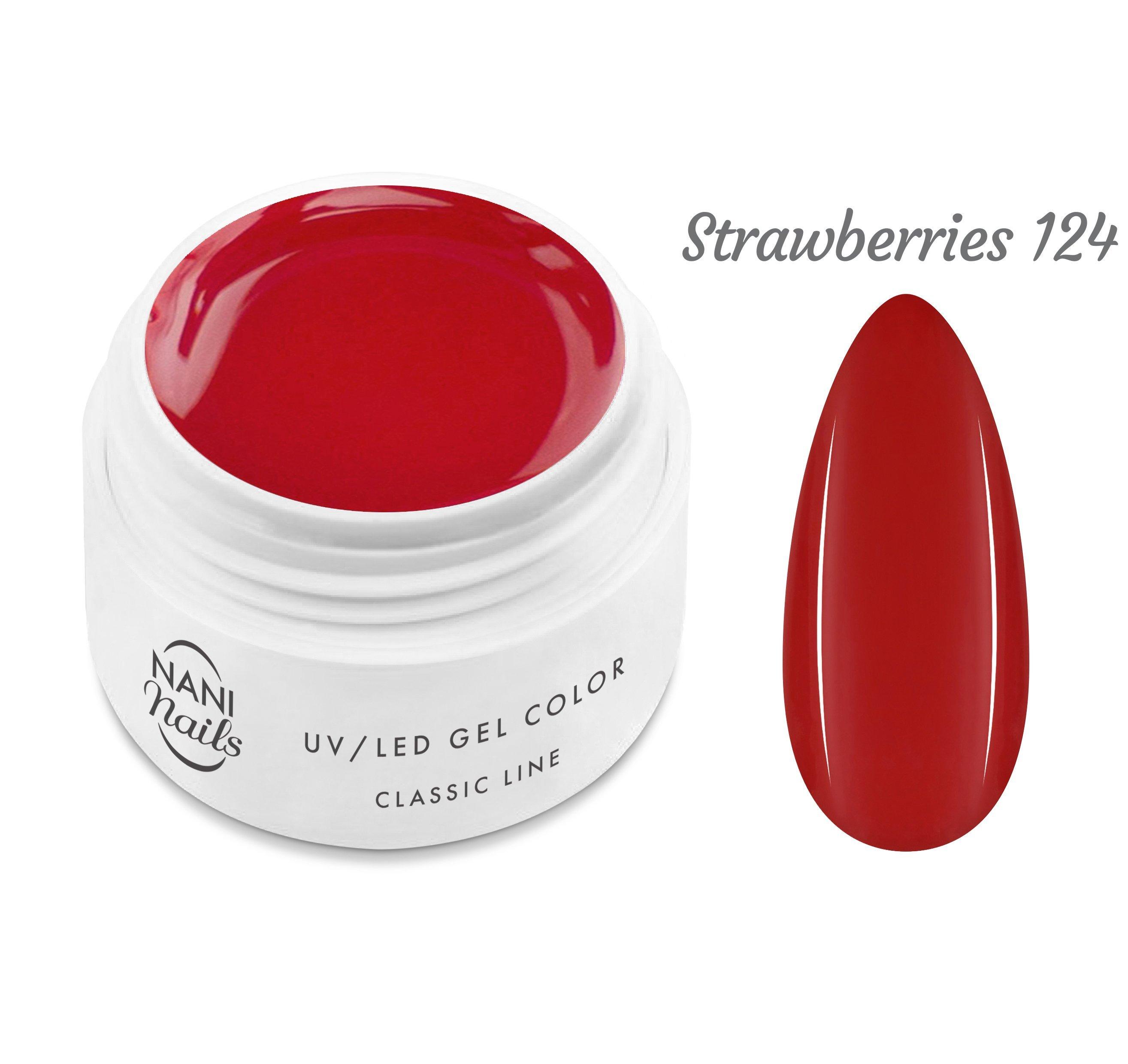 NANI UV gél Classic Line 5 ml - Strawberries
