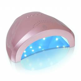NANI UV/LED lampa 24/48 W - Rose Gold
