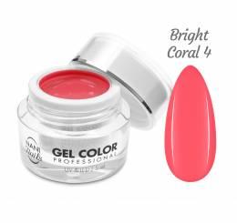 NANI UV/LED gél Professional 5 ml - Bright Coral